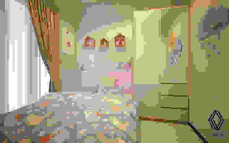 غرفة نوم بنات تنفيذ Vinch Interior,