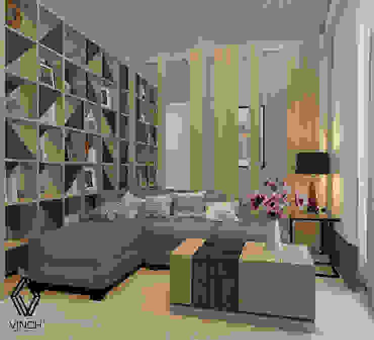 Parlor Area Ruang Keluarga Modern Oleh Vinch Interior Modern