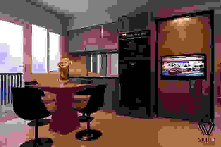 Living, Dining, Pantry Area Ruang Keluarga Modern Oleh Vinch Interior Modern