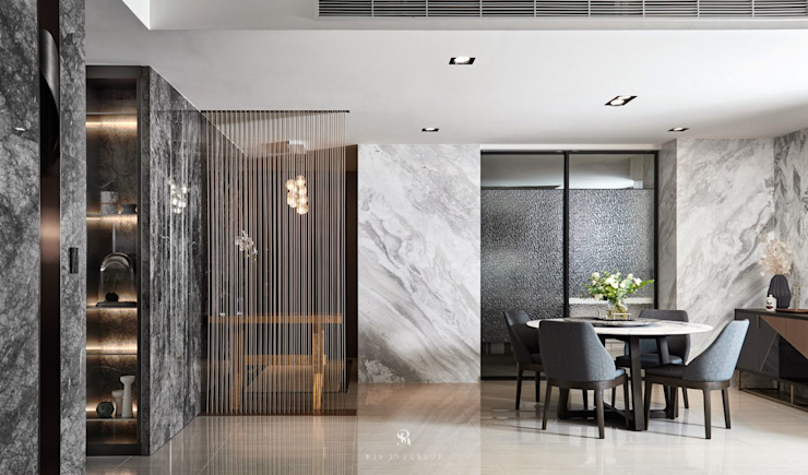 璀璨.脈脈|Van der Vein 根據 理絲室內設計有限公司 Ris Interior Design Co., Ltd. 現代風