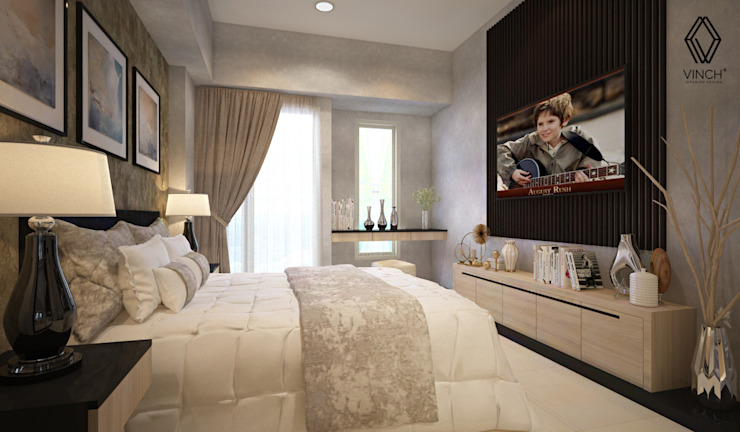Bedroom Area Kamar Tidur Modern Oleh Vinch Interior Modern