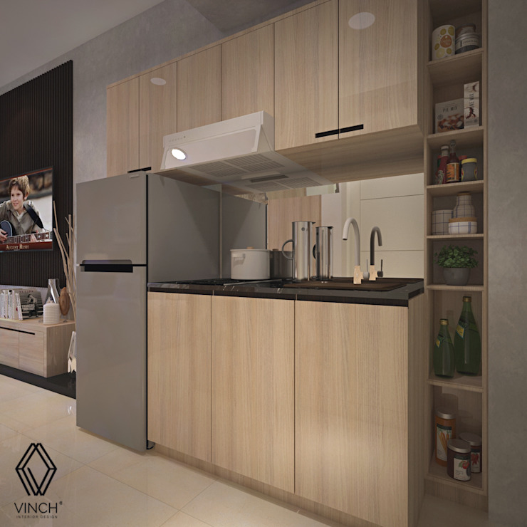 Pantry Area Oleh Vinch Interior Modern