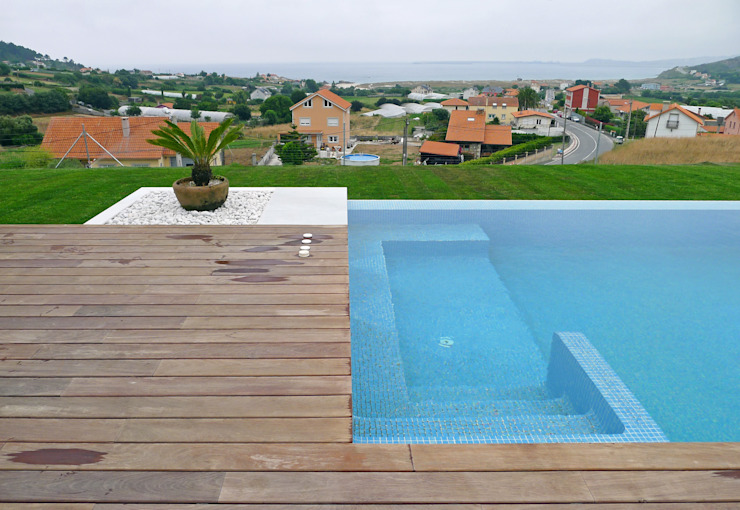 AD+ arquitectura Infinity Pool Wood Blue