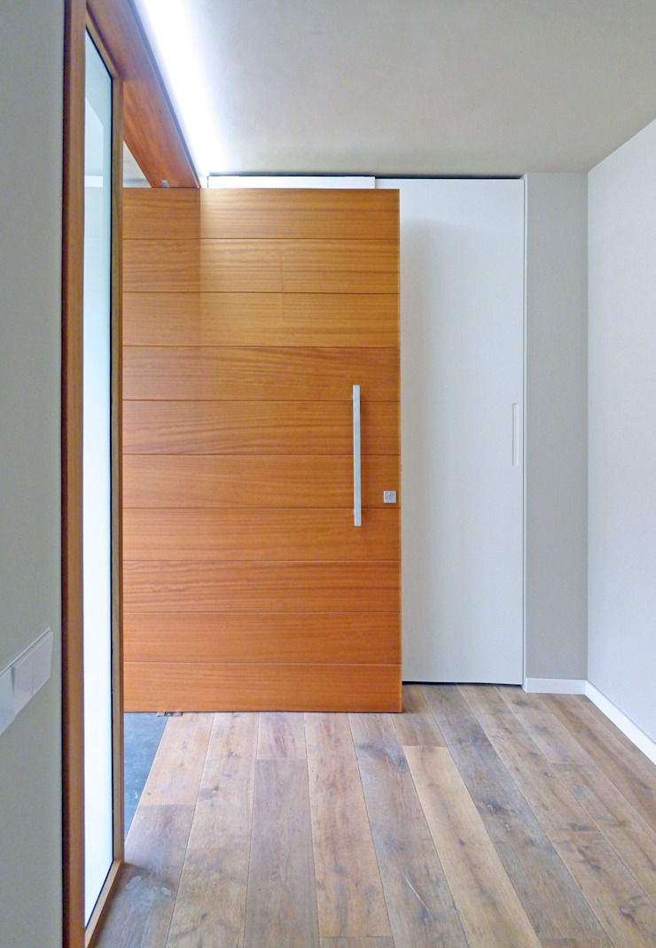 AD+ arquitectura Front doors Wood Brown