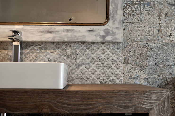 AD+ arquitectura Modern Bathroom Ceramic White