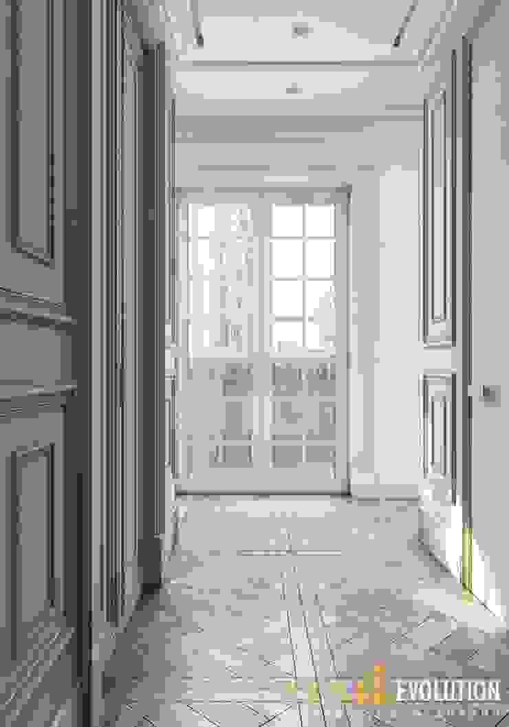 АРИСТОКРАТ Коридор, прихожая и лестница в классическом стиле от Design Evolution Классический