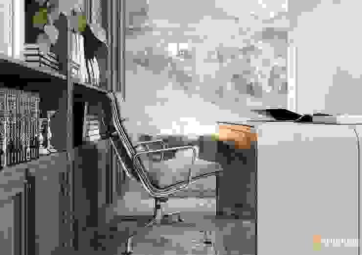 АРИСТОКРАТ Рабочий кабинет в классическом стиле от Design Evolution Классический