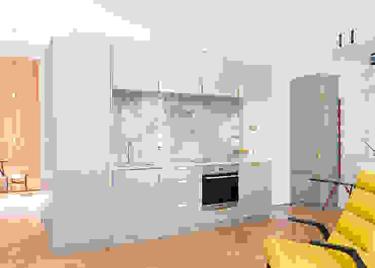Westbourne Gardens Moderne Küchen von NAKED Kitchens Modern