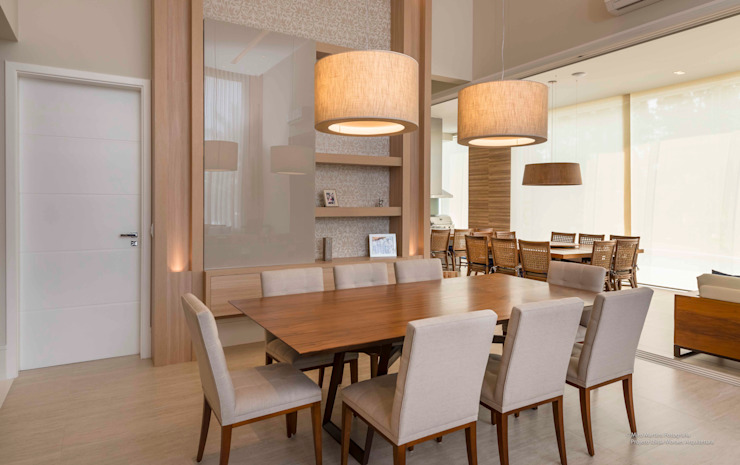 Izilda Moraes Arquitetura Dining roomLighting