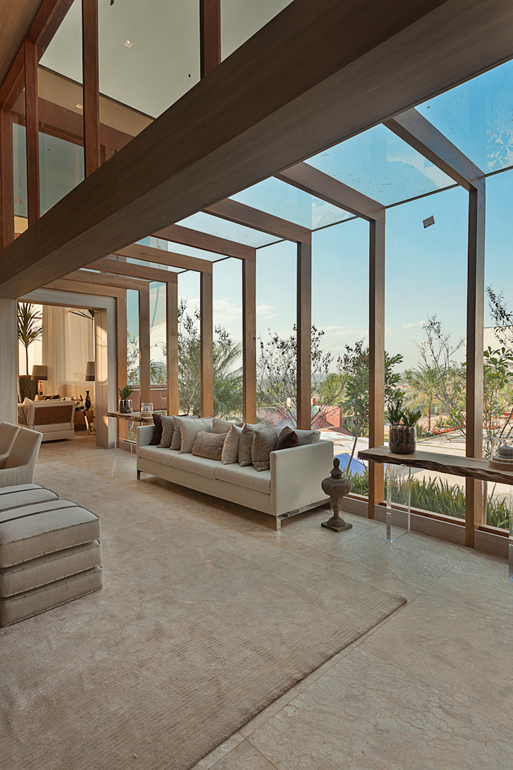 Izilda Moraes Arquitetura ห้องนั่งเล่น