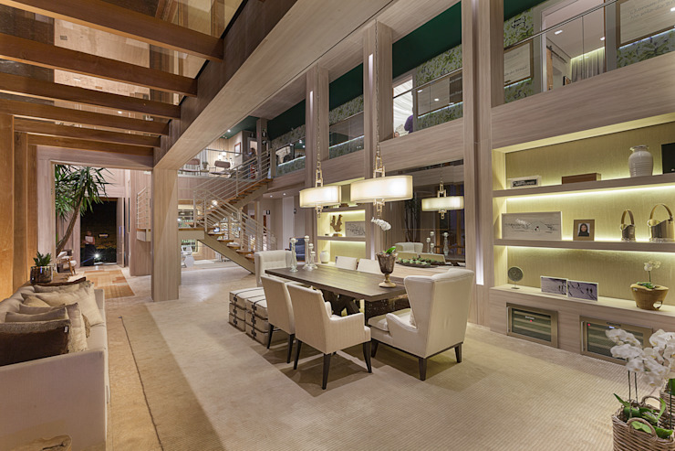 Izilda Moraes Arquitetura ห้องทานข้าว