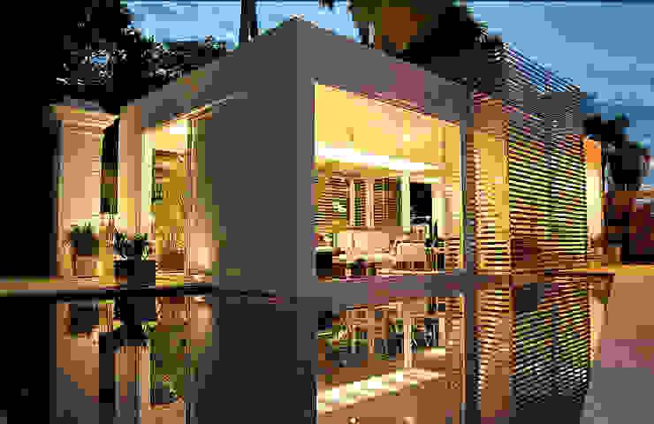 Izilda Moraes Arquitetura ประตูกระจก