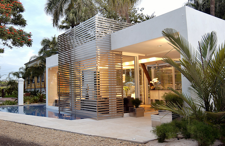Izilda Moraes Arquitetura ม่านบังตา