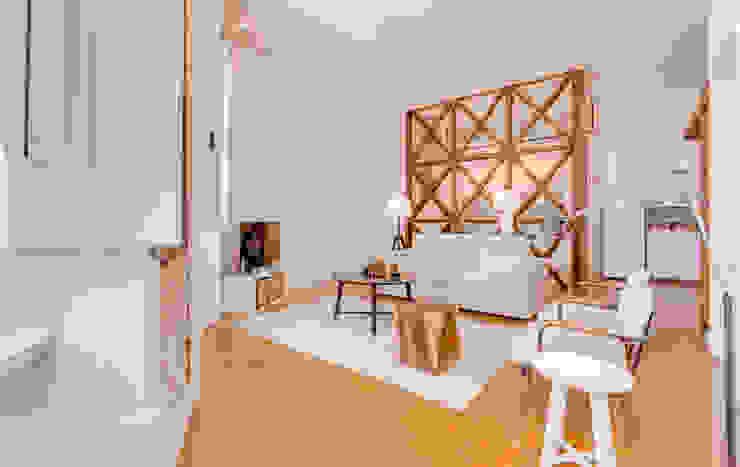 Apartamento Rua Boavista / Lisboa - Apartment in Rua Boavista / Lisbon Salas de estar modernas por Ivo Santos Multimédia Moderno