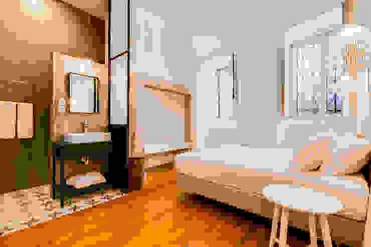 Apartamento Rua Boavista / Lisboa – Apartment in Rua Boavista / Lisbon Ivo Santos Multimédia Quartos modernos