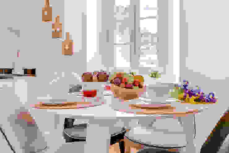 Apartamentos Alfama / Lisboa – Apartments in Alfama / Lisbon Ivo Santos Multimédia Salas de jantar modernas