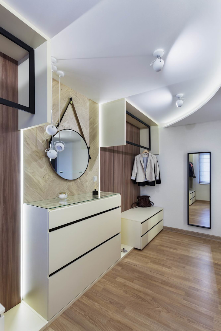 Галина Глебова Industrial style dressing room