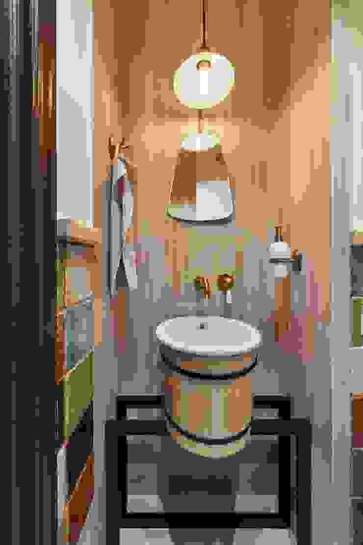 Галина Глебова Industrial style bathroom