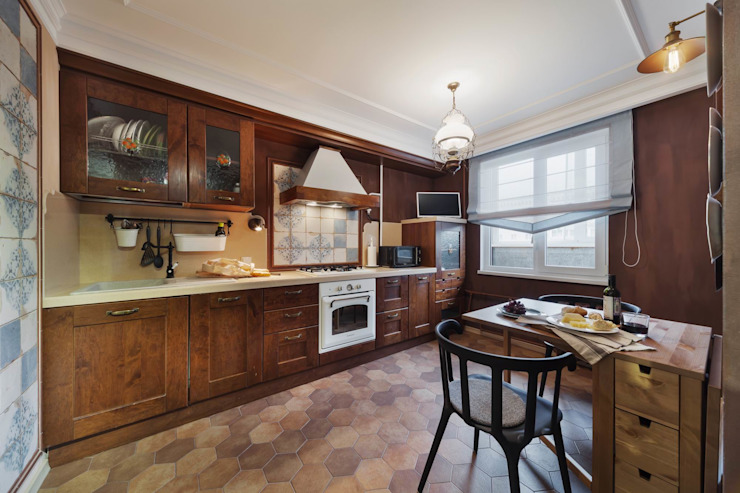 Галина Глебова Industrial style kitchen