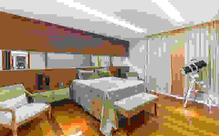 Charis Guernieri Arquitetura Classic style bedroom