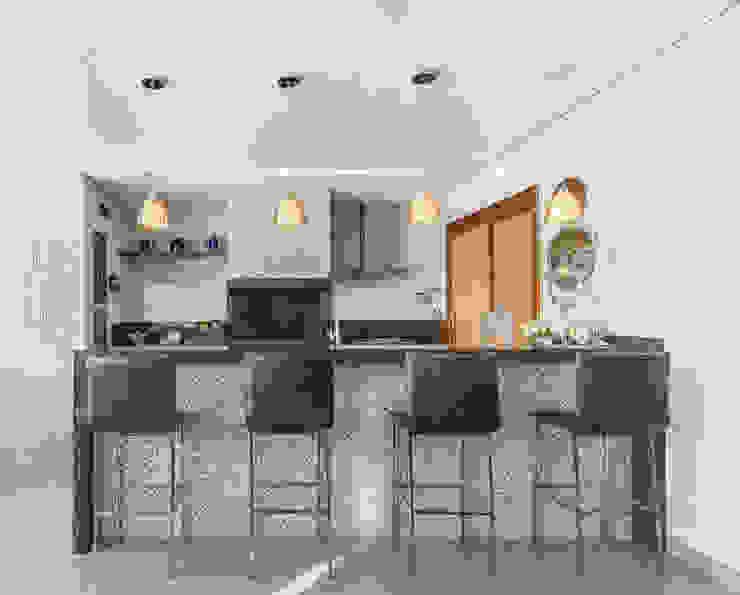 Charis Guernieri Arquitetura Kitchen units