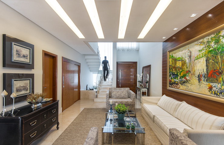 Charis Guernieri Arquitetura Living room