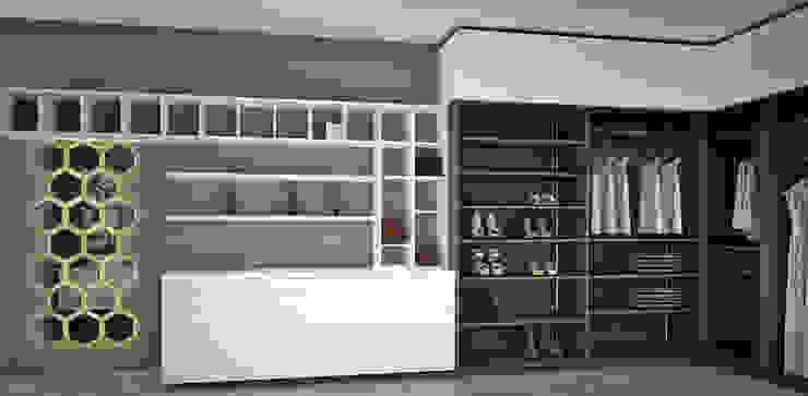 Modern Dressing Room by Toque De Menta Modern