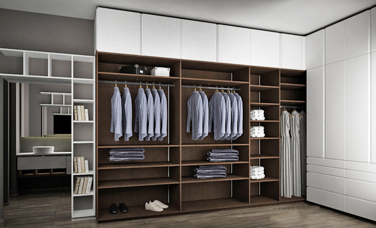 Dressing room by Toque De Menta, Modern