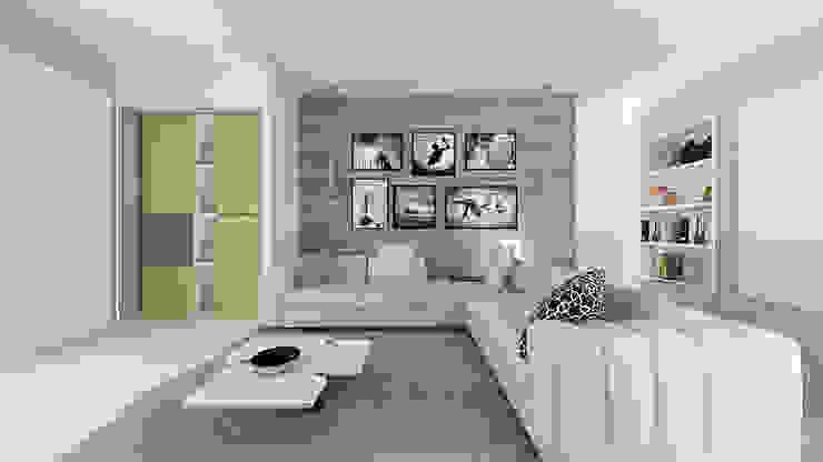 Industriale Wohnzimmer von De Vivo Home Design Industrial