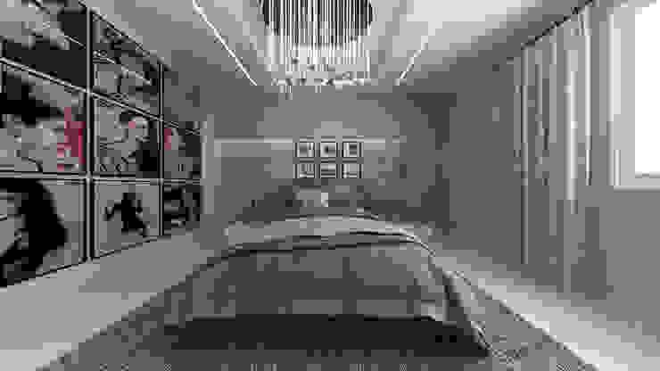 Casa GL Camera da letto in stile industriale di De Vivo Home Design Industrial