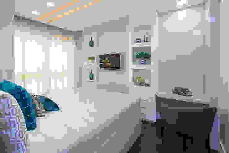 Apartamento Balneário Camboriú Cas Arquitetos Associados Quartos modernos