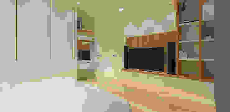 Pluit Residence Kamar Tidur Minimalis Oleh KERA Design Studio Minimalis