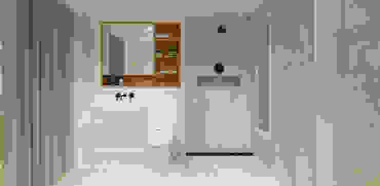 Pluit Residence Kamar Mandi Minimalis Oleh KERA Design Studio Minimalis