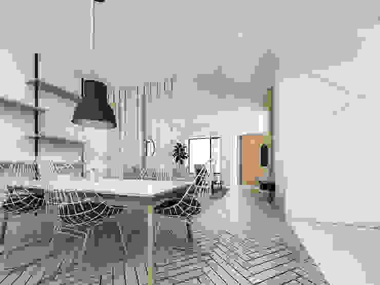 Mutiara Palace Ruang Makan Modern Oleh KERA Design Studio Modern