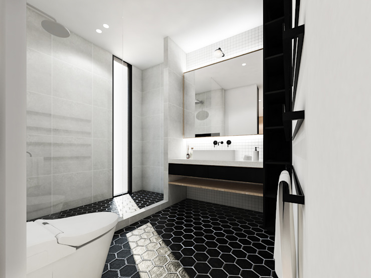 KERA Design Studio Modern bathroom