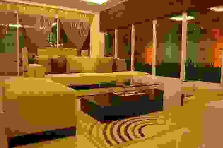 Kitchen Set and Living Room Ruang Keluarga Modern Oleh Anantawikrama Studio Modern Kayu Lapis