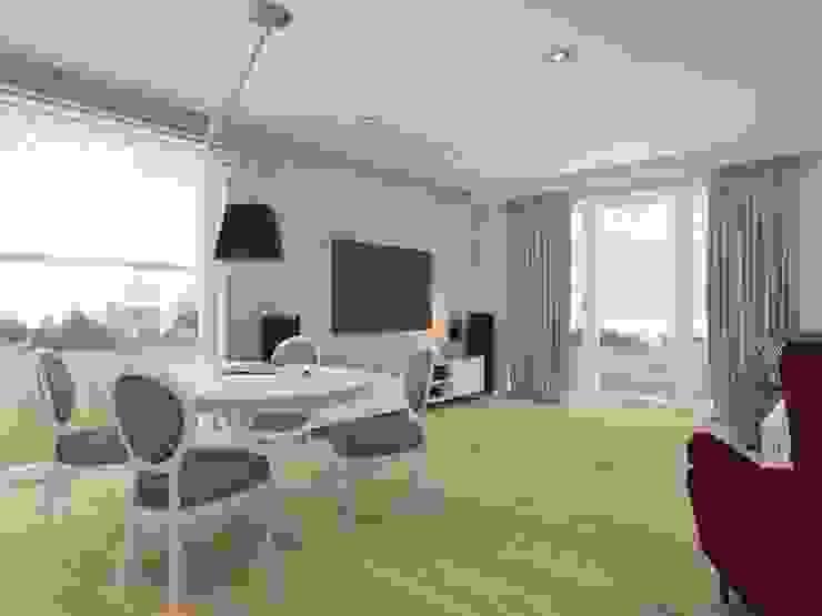 Rustikale Wohnzimmer von SO INTERIORS ARCHITEKTURA WNĘTRZ Rustikal
