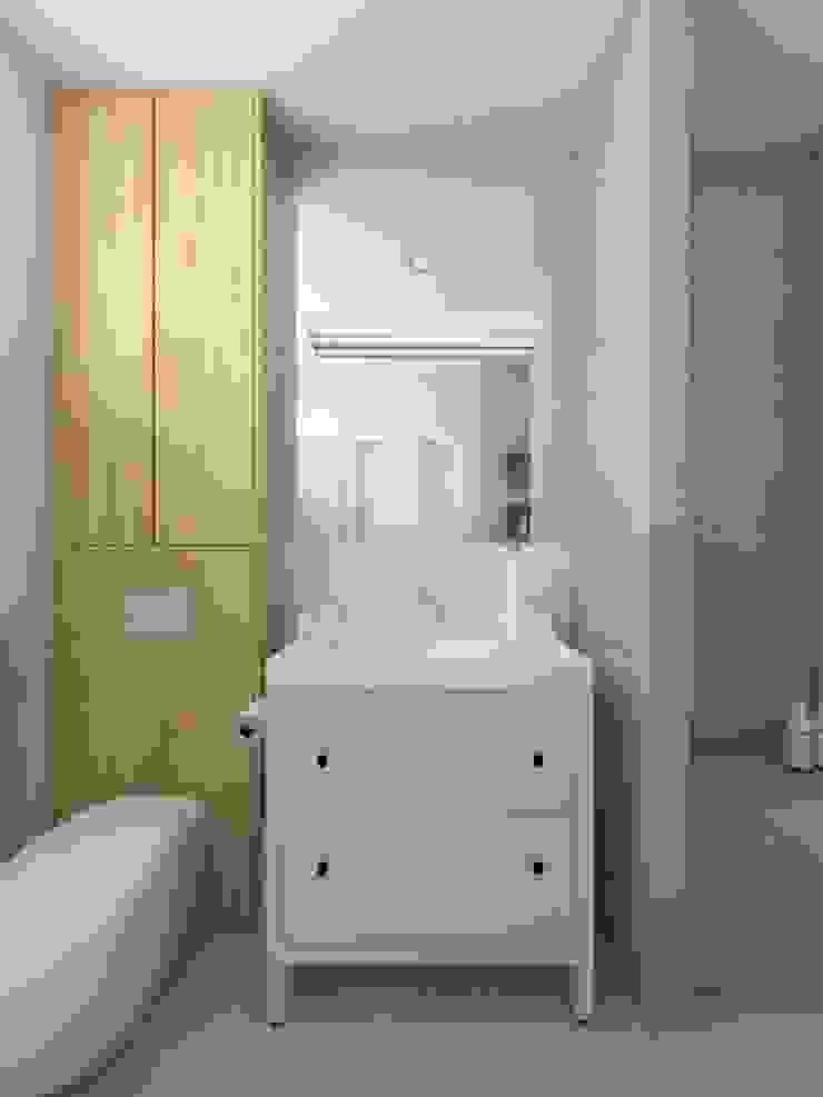 Rustikale Badezimmer von SO INTERIORS ARCHITEKTURA WNĘTRZ Rustikal