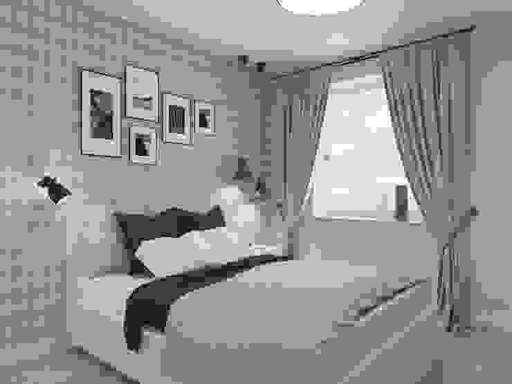 Rustikale Schlafzimmer von SO INTERIORS ARCHITEKTURA WNĘTRZ Rustikal
