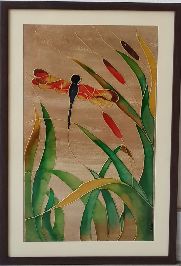 Dragonfly: asian  by Indian Art Ideas,Asian