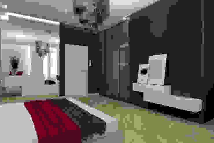 Moderne Schlafzimmer von SO INTERIORS ARCHITEKTURA WNĘTRZ Modern