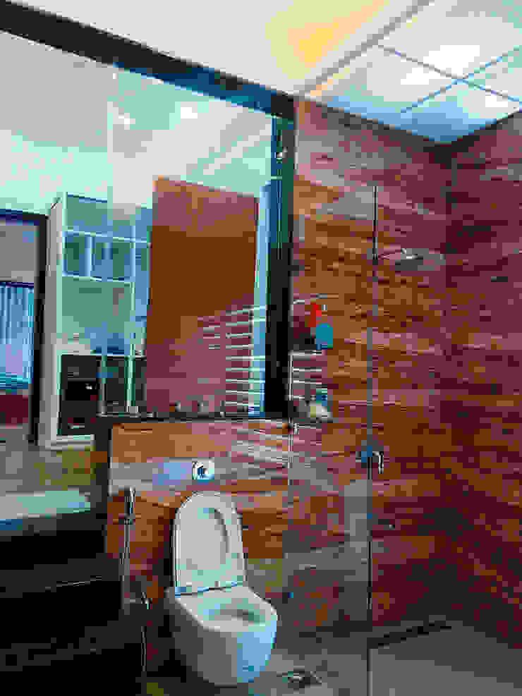 BUNGALOW INTERIORS Minimalist bathroom by Finch Architects Minimalist