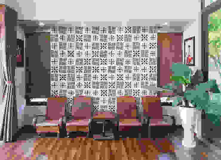 NEW HOUSE:  Phòng khách by RÂU ARCH,