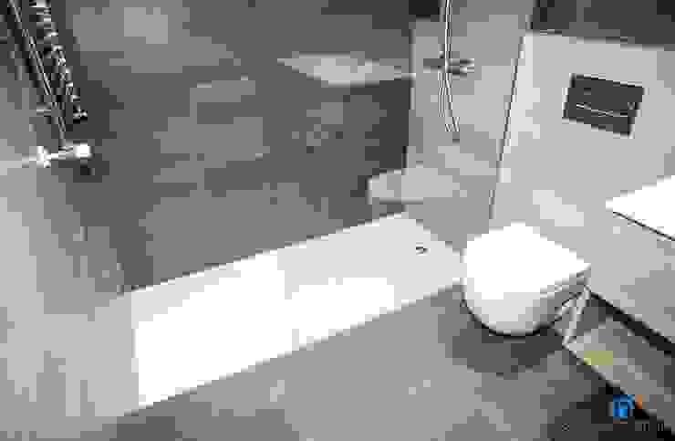 Moderne Badezimmer von Grupo Inventia Modern Fliesen