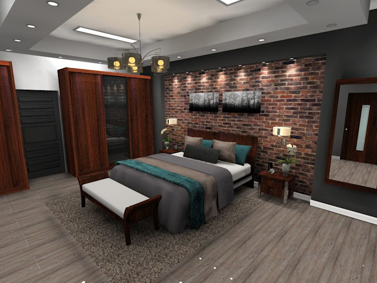Main Bedroom by Effects Interior Design