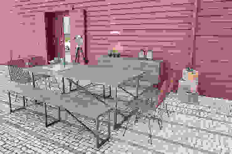 STREIGHTEX Garden Furniture Solid Wood Grey