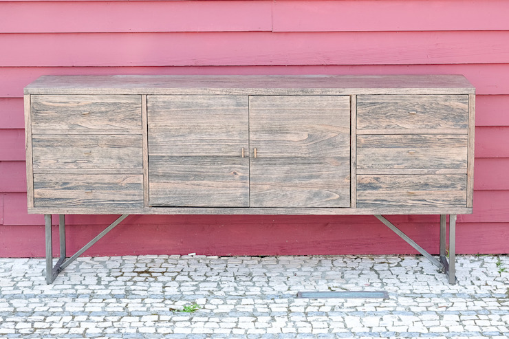 STREIGHTEX Dining roomDressers & sideboards Solid Wood Grey