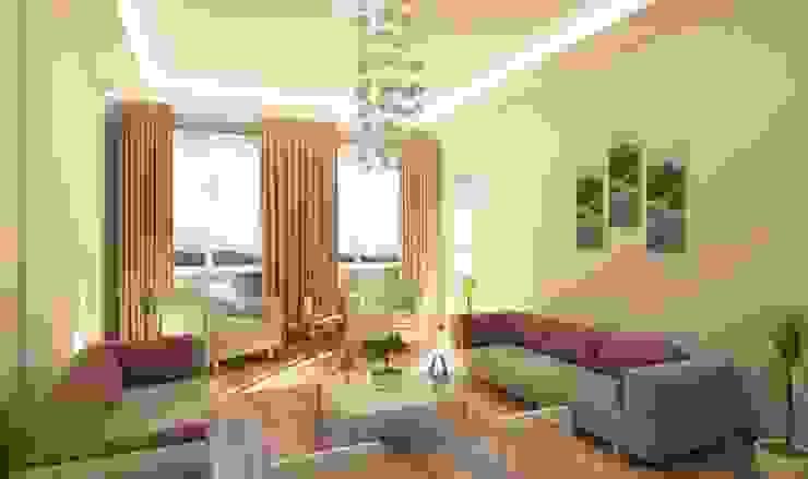 Hoylu İnşaat Arredeco Mimarlık - Y. Mimar Caner Kutsal Modern Oturma Odası