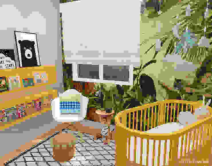 Baby Room in Den Haag van Studio Baoba Modern