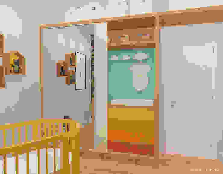 Baby Room in Den Haag Moderne kinderkamers van Studio Baoba Modern
